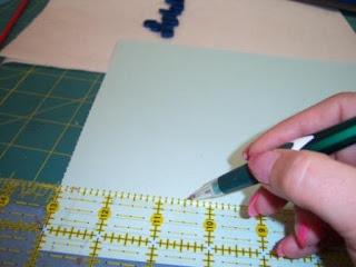 quilled paper monogram