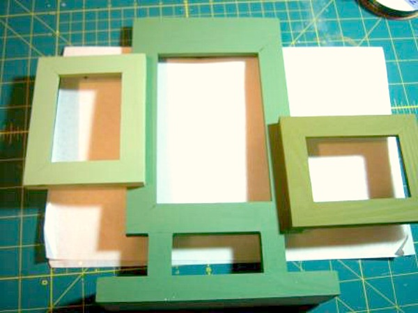 diy 3d spring picture frame