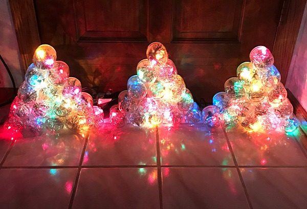 Baby Food Jar Christmas Tree Tutorial