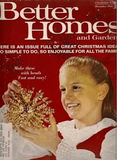better homes and gardens december 1966