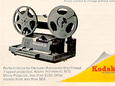 movie projector vintage better homes and gardens