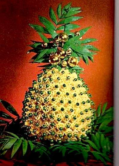 macaroni pineapple vintage better homes and gardens