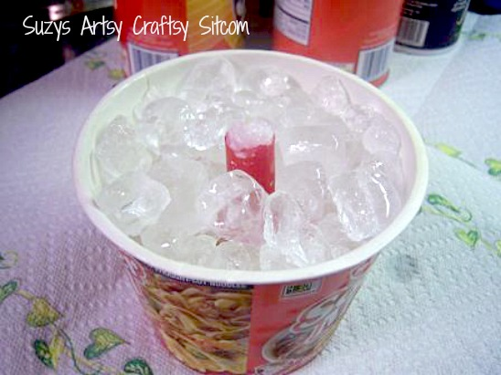 ice candles diy tutorial