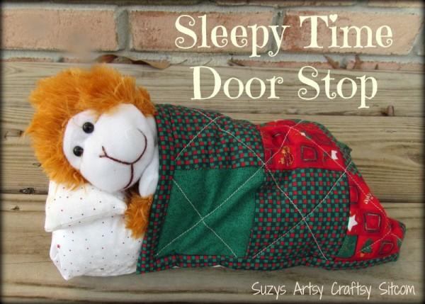 sleepy time door stop tutorial