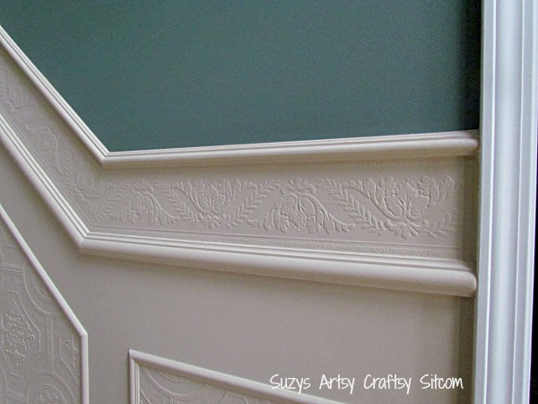 Paintable Textured Wallpaper DIY