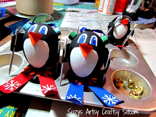 penguin ornaments tutorial