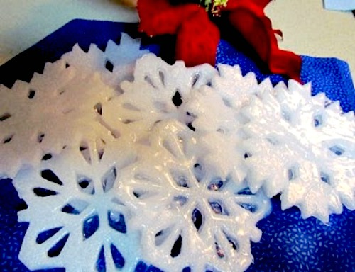 soap craft ideas 12 beautiful snowflake craft ideas 2964
