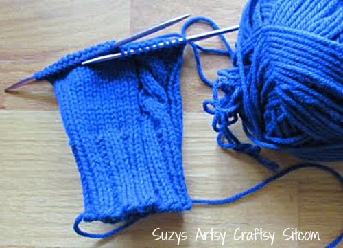 Need A New Knitting Project Cable On The Side Mittens