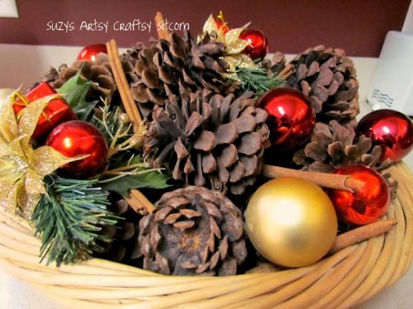 scented pinecones by suzys artsy craftsy sitcom