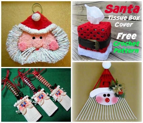 love santa crafts - Santa Crafts