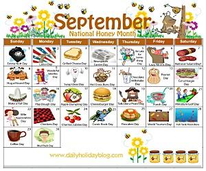 september daily holiday calendar
