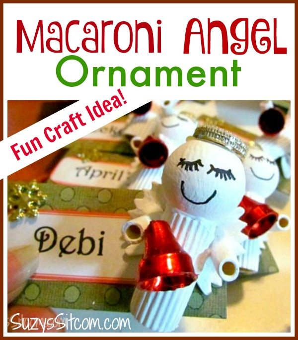 macaroni angel name tags