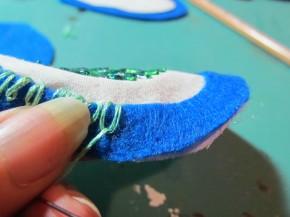 daisy stitch embroidery