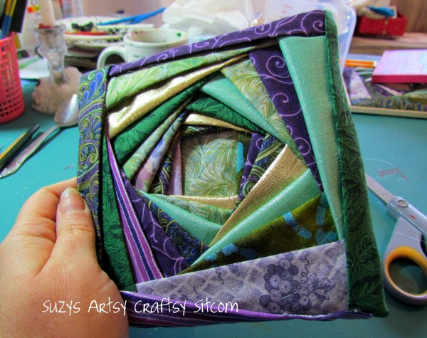 iris folding fabric