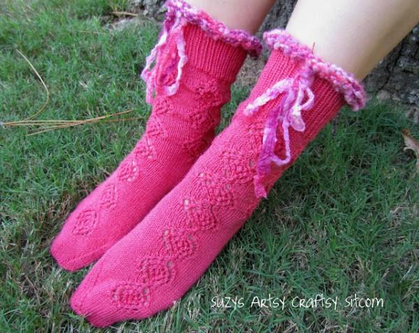 opus 200 socks knitted