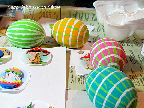 3d scenic egg ornaments