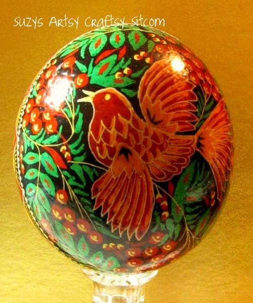 Ukrainian Ostrich Egg
