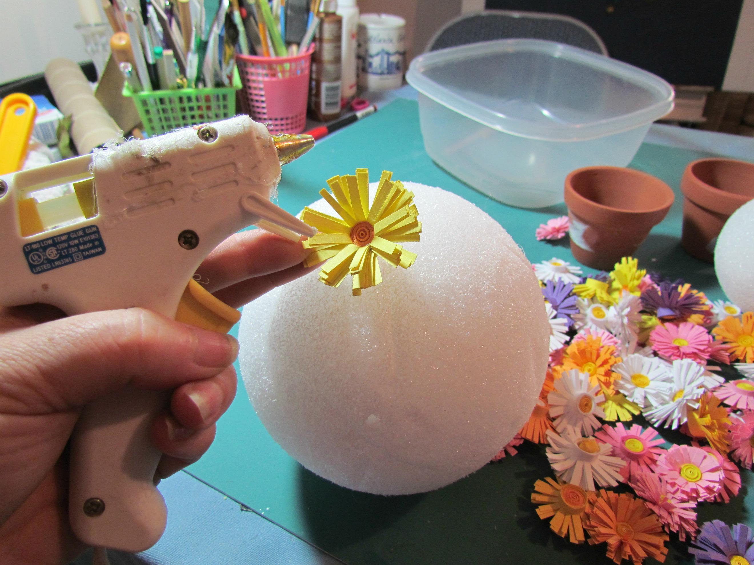 Поделка на 8 марта цветы в вазе