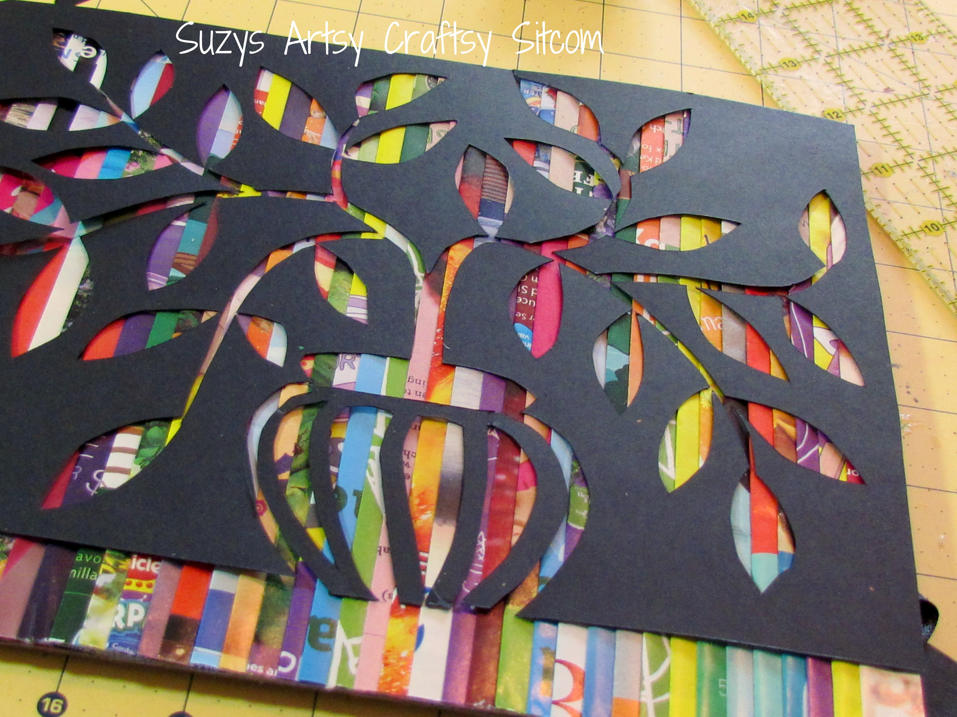 Book Cover Art And Craft ~ Feature friday cut paper art