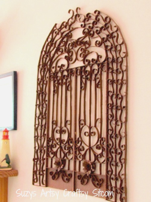 Feature Friday- Faux Iron Gate