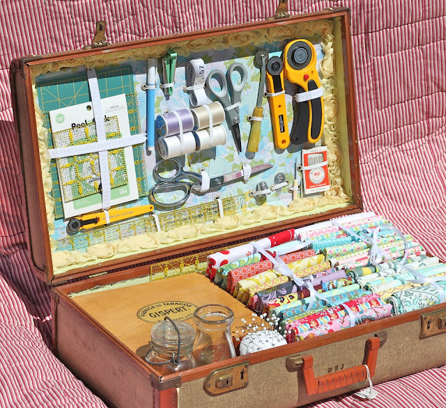 Diy guest post creative craft storage - Boite rangement vintage ...