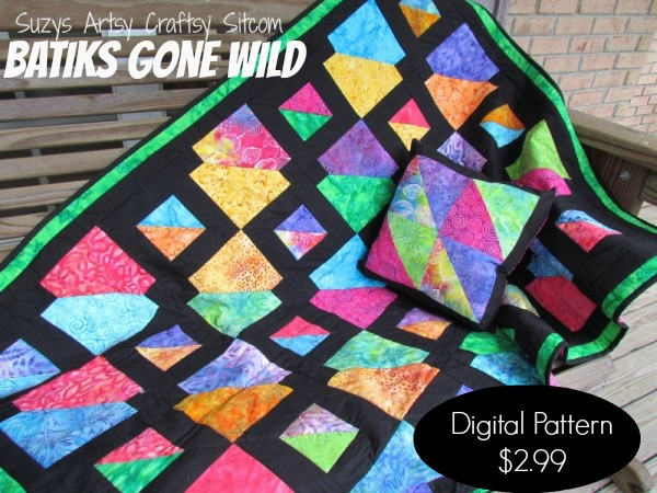 batiks gone wild pattern