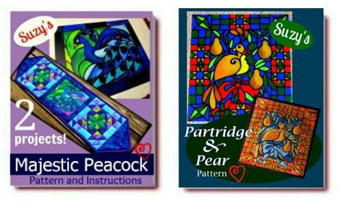 pattern ebooks peacock partridge