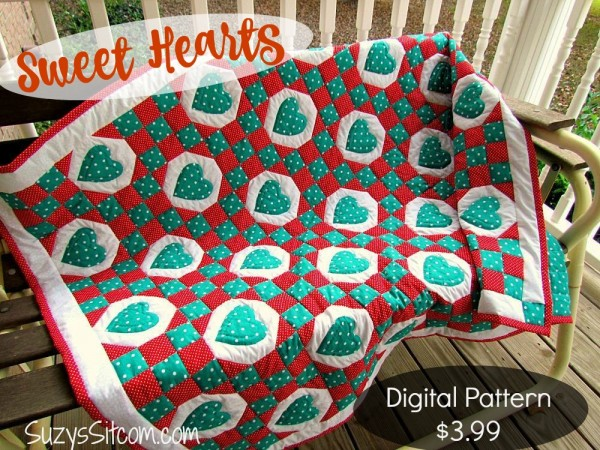 sweet hearts quilt pattern