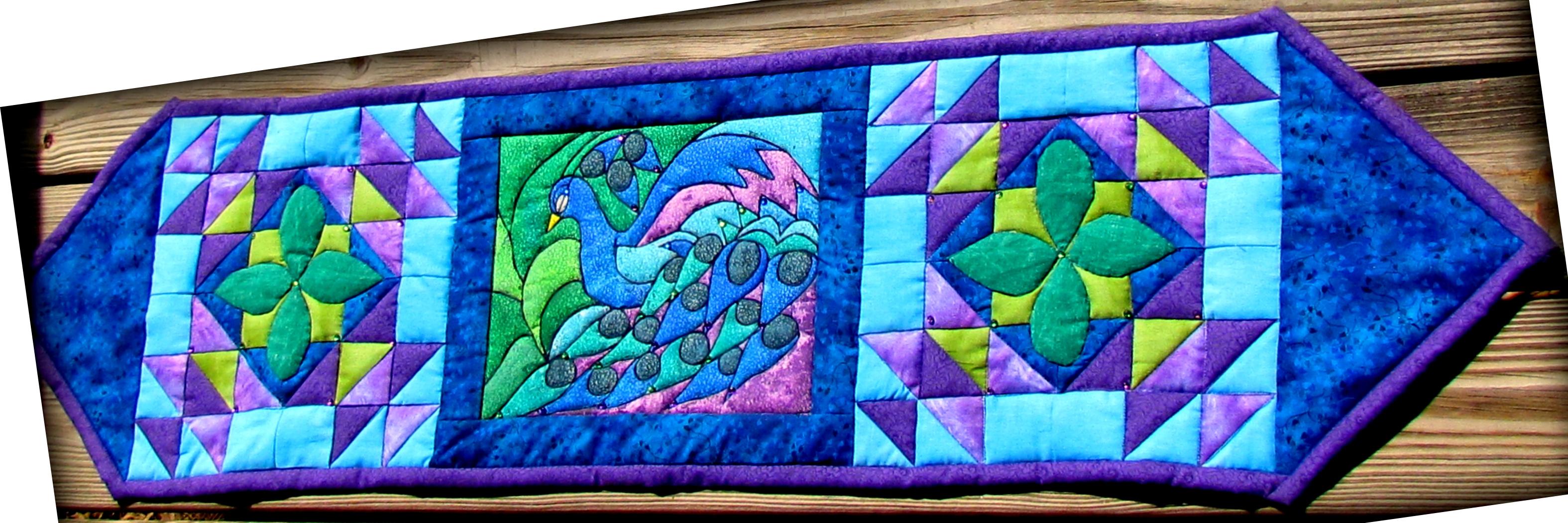 Suzy S Majestic Peacock Ebook Pattern