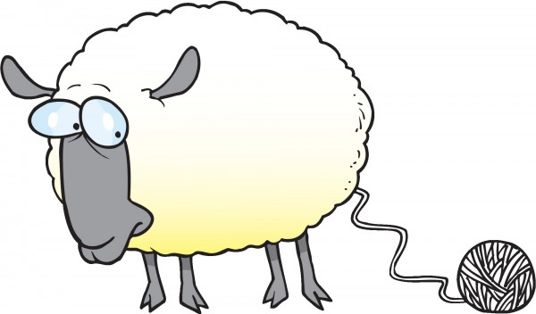 Knitting Sheep Clipart : Knitting isn t just for little old ladies anymore