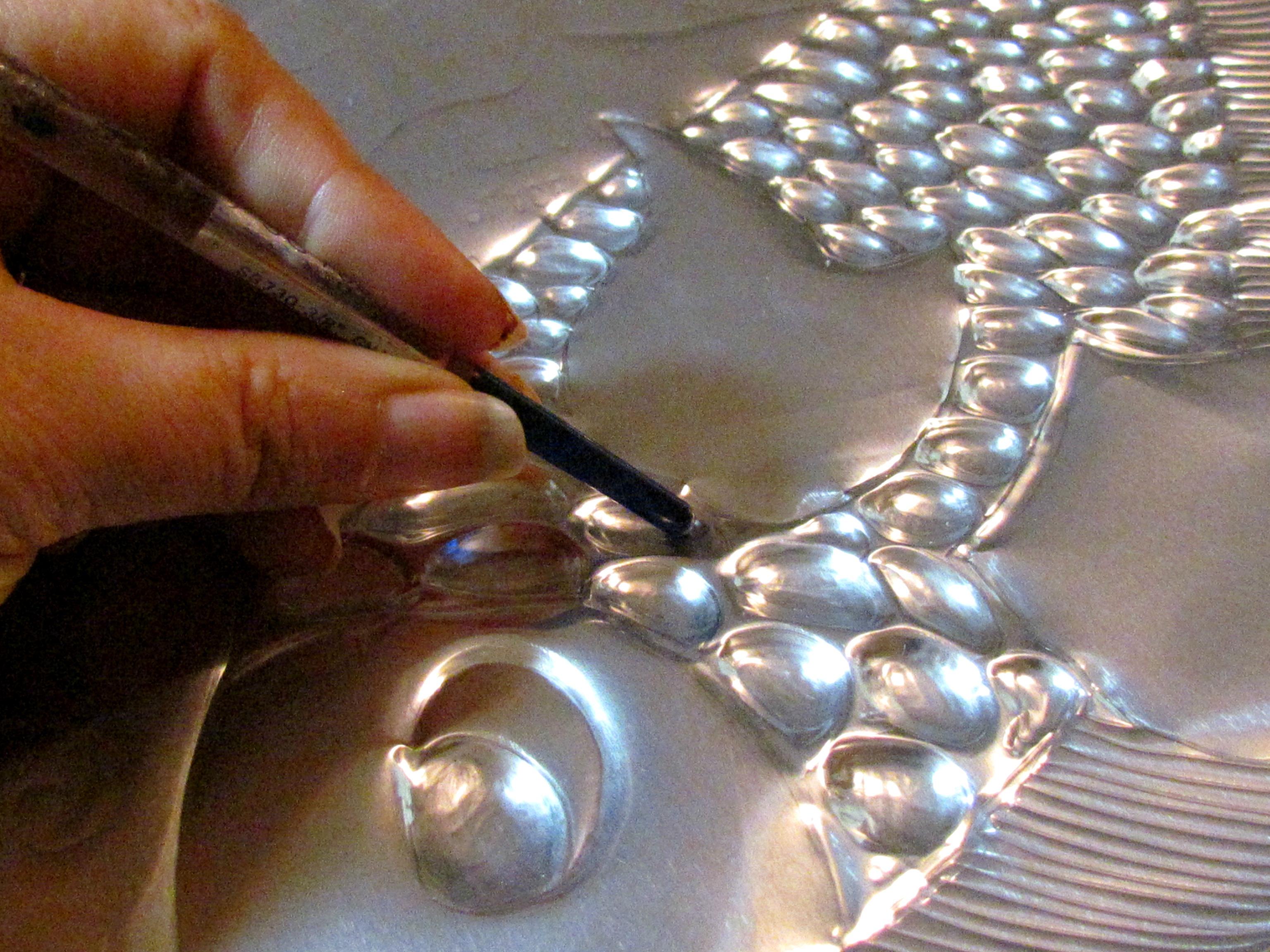 Рисунок на алюминии своими руками