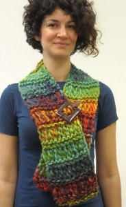 Marley Dropstitch Scarf by Plymouth Yarn Design Studio