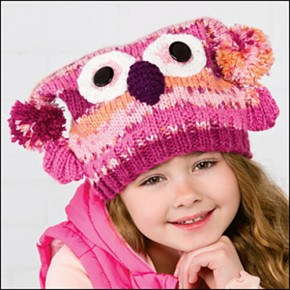 Magic Owl Hat by Michele Wilcox