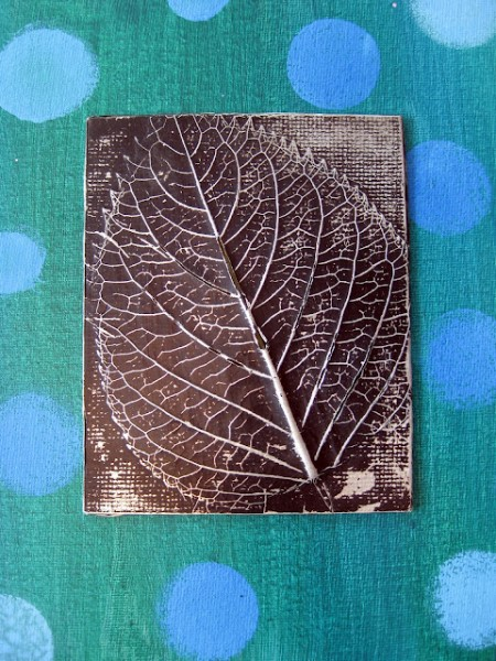Leaf relief #fall crafts