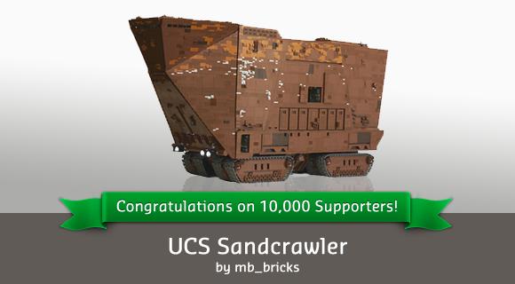 15_Sandcrawler from Lego Cuusoo