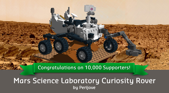 Mars Science Lab from Lego Cuusoo #design #toy
