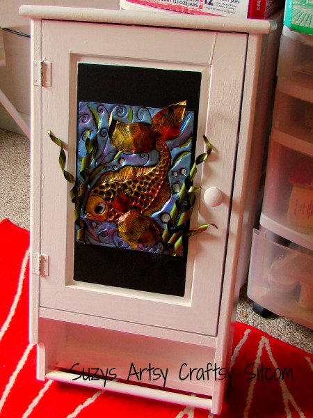 Fish Cabinet/Enchanted Fish Pattern/ Suzys Artsy Craftsy Sitcom