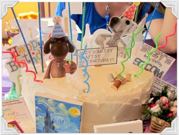 Birthday cake/Suzys Artsy Craftsy Sitcom