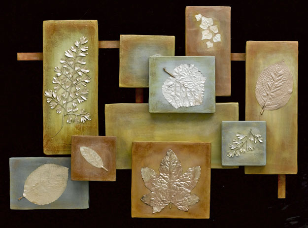 5 great fall leaf crafts for Great wall art ideas