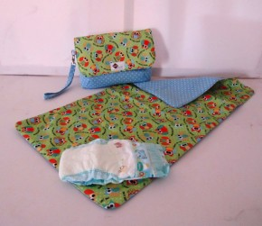 Diaper Bag Set/Fabric Doodles by Tracey Lipman #etsy