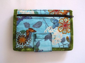 Fabric Wallet/Fabric Doodles by Tracey Lipman #etsy