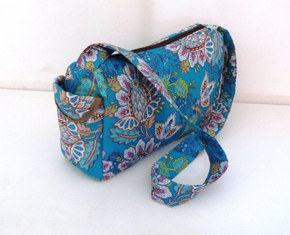 Fabric Handbag/Fabric Doodles by Tracey Lipman #etsy