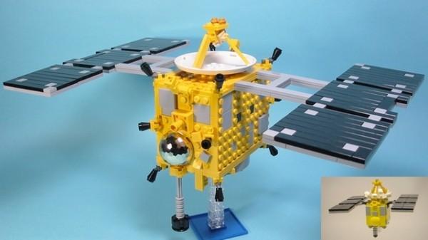 Lego Hayabusa from Lego Cuusoo #designers #toys