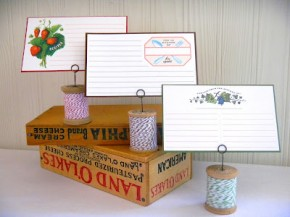 Recipe card holders