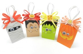 Halloween Treat Bags by Bowdabra Blog #Halloween