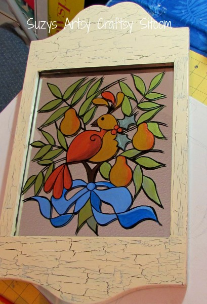 Holiday Partridge Mirror/Suzys Artsy Craftsy Sitcom #pattern #holiday #Christmas