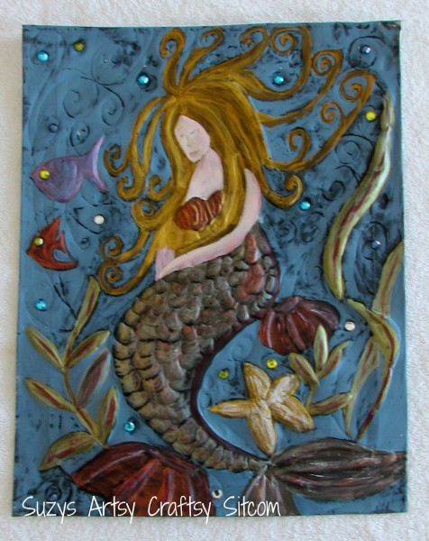 Sleeping Mermaid/Suzys Artsy Craftsy Sitcom #pattern @suzy6281