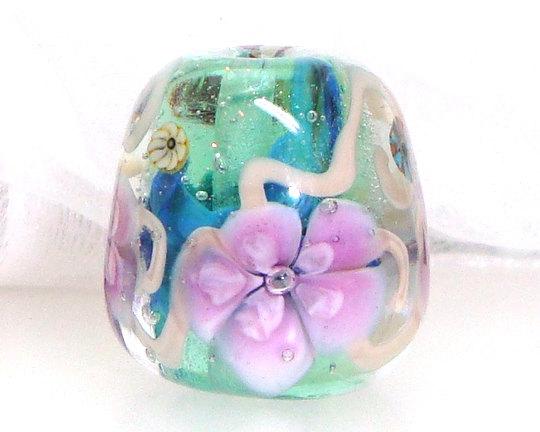 Handmade Lampwork Bead by Elizabeth Beads