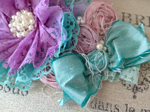Butchart Gardens headband by Cozette Couture #etsy