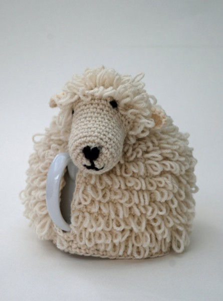 Sheep Tea Cozy Crochet Kit by Woolly Chic Designs/Suzys Artsy Craftsy Sitcom